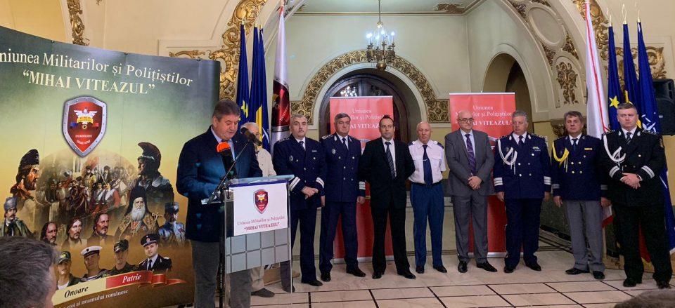 Gabriel Oprea a demarat un nou proiect: Uniunea Militarilor și Polițiștilor 'Mihai Viteazul'