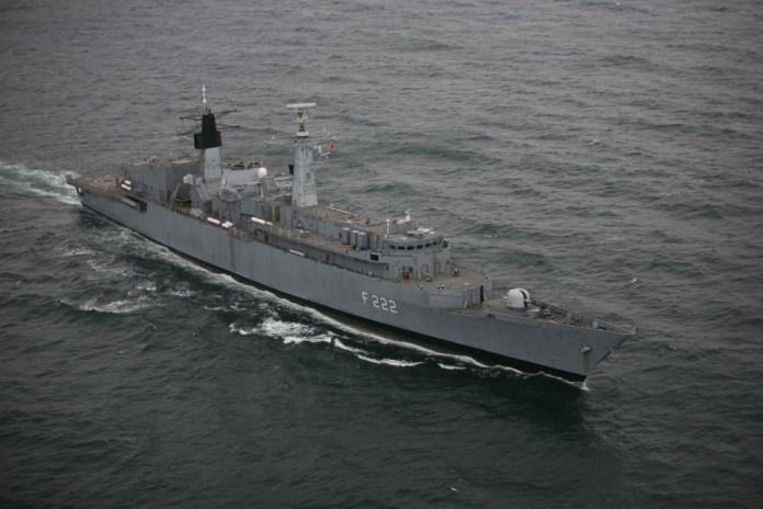 """News UMPMV – Fregata ,, Regina Maria"""" continuă operațiunea de căutare a persoanelor dispărute în Marea Neagră"""