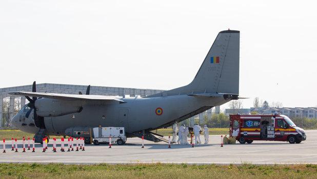 News UMPMV- O aeronavă a MApN transportă în Germania trei pacienţi cu arsuri
