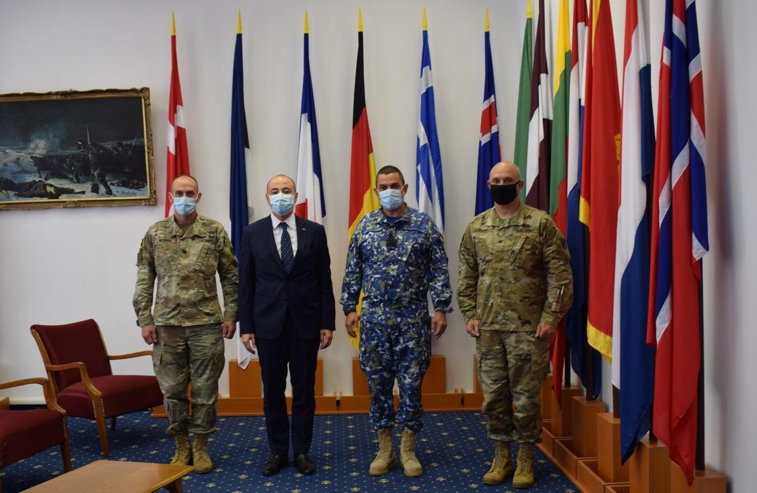 NEWS UMPMV-Noul ambasador al României în SUA, Andrei Muraru, în vizită la Baza Mihail Kogălniceanu: Suplimentarea efectivelor de militari americani în România reprezintă o prioritate