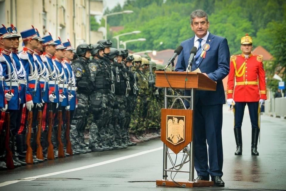 Mesajul presedintelui UMPMV, gl. Gabriel Oprea, de Ziua Imnului National